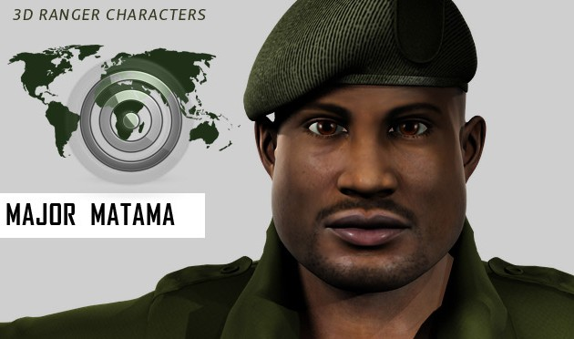 Galiwango Film Update ~ 4 New 3D Character Profiles