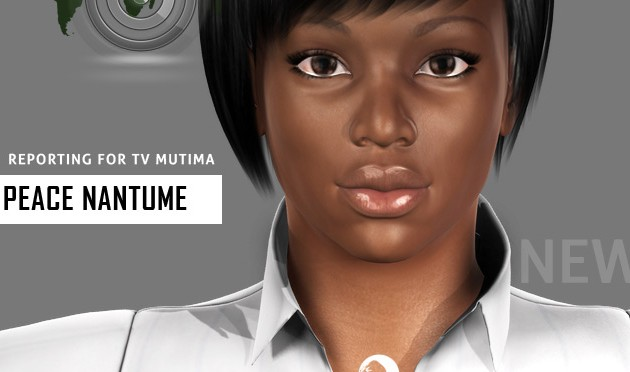Galiwango Film Update ~ New 3D Female News Reporter Character