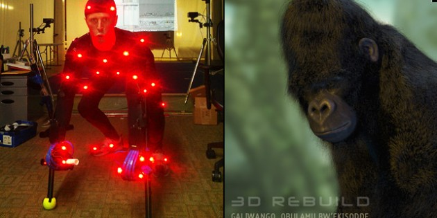Video Shoot and Photos from Motion Capture Session at Mixamo Studios in CA