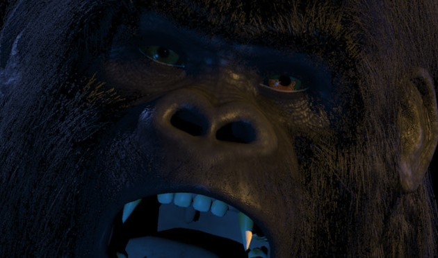 Galiwango Gorilla Character Rebuild ~ Facial Motion Editing with Faceware&#8217;s Retargeter