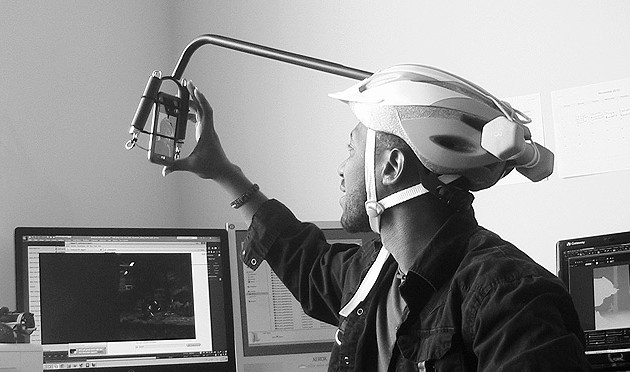 Custom Head Mounted Camera Rig for Facial Performance Capture